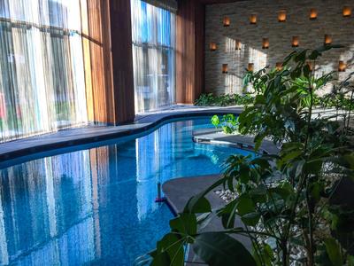 Indoor-Pool im Spa-Bereich