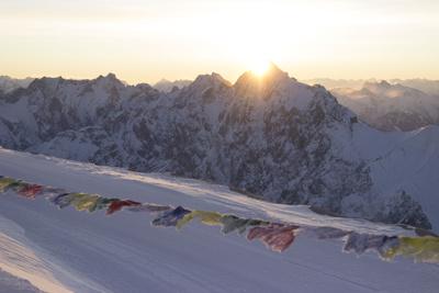 Sonnenaufgang Zugspitze