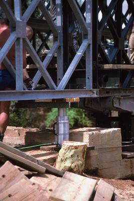 Brückenbau in Somalia 2