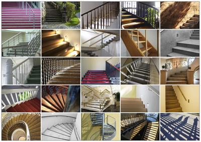 Treppen-Vielfalt