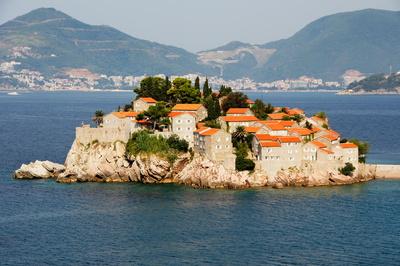 Sveti Stefan , Montenegro