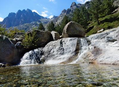 Restonica Tal , Korsika