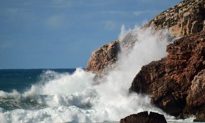 Felsen und Meer Westküste Portugal
