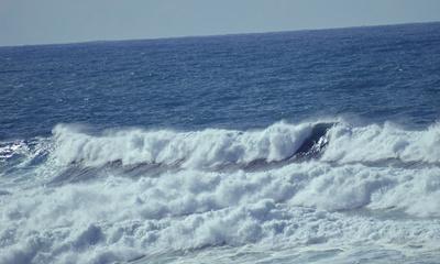 Atlantikwellen an Portugals Südwestküste 10 2015