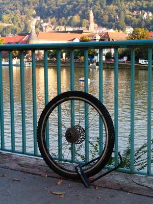 hab ein Rad in Heidelberg verloren