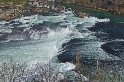 Rheinfall von oben