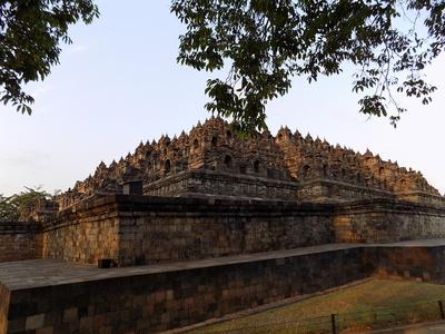 Tempelanlage von Borobudur