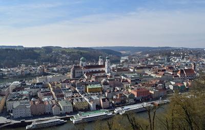 Passau - Altstadt mit Dom St. Stephan