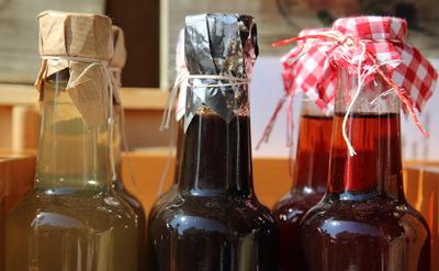Omas Flaschen