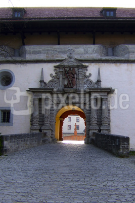 Portal der Festung Marienberg