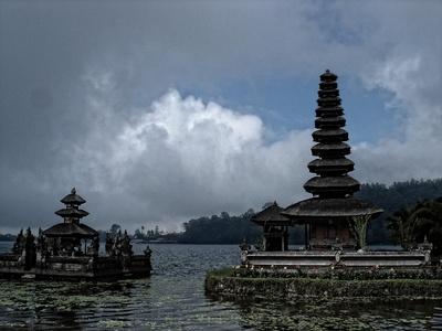 Tempel Pura Ulun Danu Bratan auf Bali