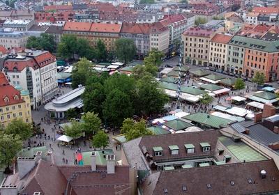 Viktualienmarkt , München