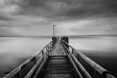 Anlegesteg / Seebrücke am Chiemsee