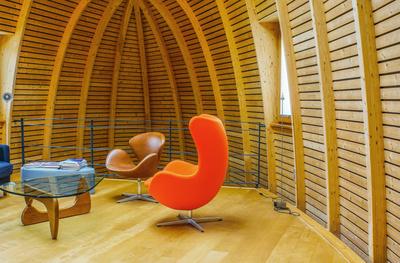 Wohnen mit Holz (Bienenkorbhaus)