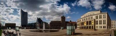 Augustusplatz Leipzig (Panorama)