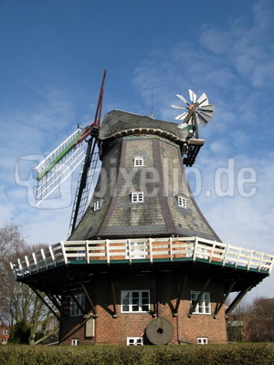 Windmühle in Wyk