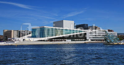 Das Opernhaus in Oslo