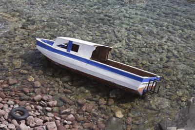Schiffswrack in der Ägäis