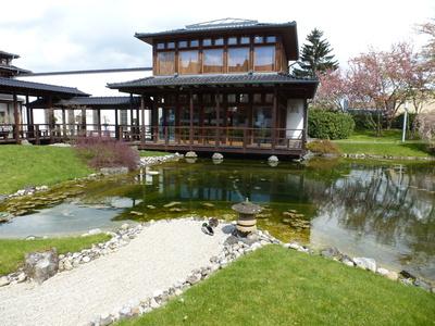 Teehaus im Japanischer Garten