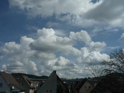 Wolkenstimmung  im  Sauerland