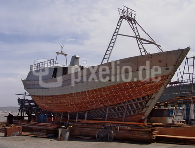 Schiffbau , Marokko