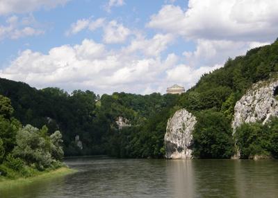 Befreiungshalle , Donaudurchbruch