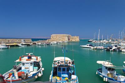 Venezianischer Hafen von Heraklion - Kreta