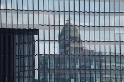 Spiegelbild Medienhafen Düsseldorf
