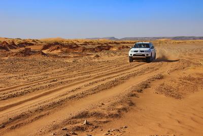 Off-road durch die Wüste