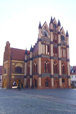 Rathaus in Tangermünde