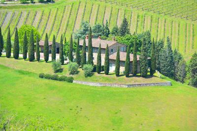 Kostenloses Foto Haus In Der Toskana Pixelio De