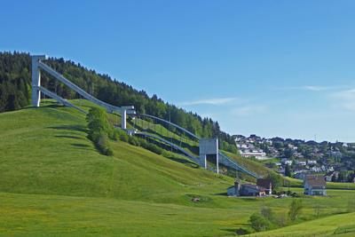 Skisprungschanze in Einsiedeln