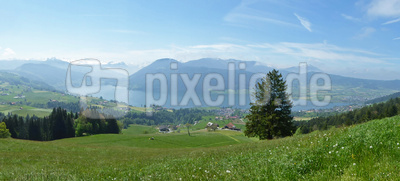 Ägerisee-Panorama