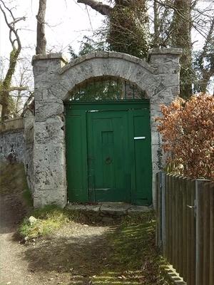 Geheimnisvolle Tür