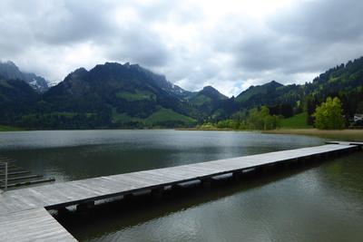 Ein paar Sonnenstrahlen am Schwarzsee