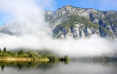 Wocheiner See , Slowenien