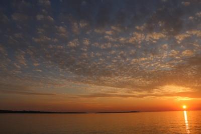 Sonnenuntergang in Istrien