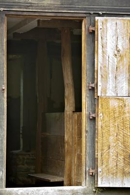 Zugang zum Stall