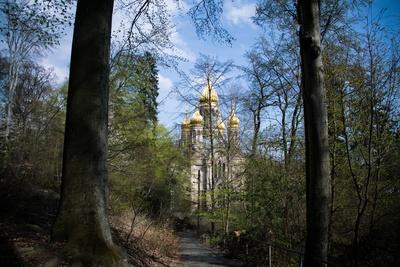 Russisch-Orthodoxe Kirche im Wald