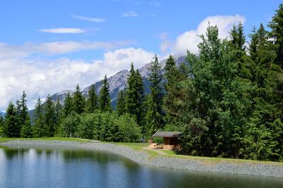 Gebirgssee im Kaisergebirge
