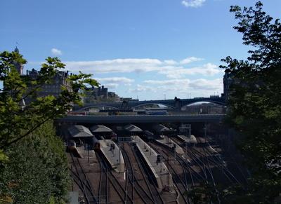 Bahnhof Edinburgh Waverley