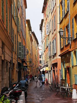 In der Altstadt in Nizza