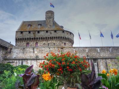 Saint-Malo - Festung an der Porte St-Vincent