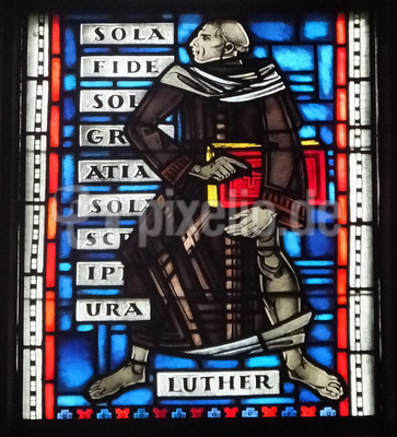 Martin Luther - Fenster