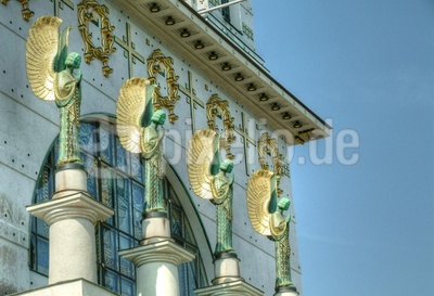 Kirche am Steinhof - Detail
