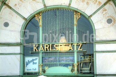 Alte Stadtbahnstation Karlsplatz