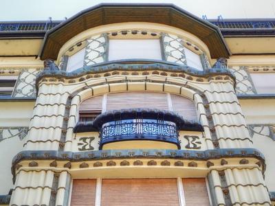 Jugendstilfassade - Detail