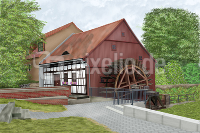 die Spreewaldmühle in Cottbus