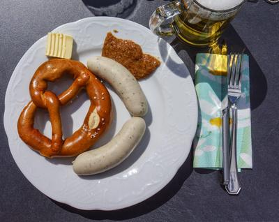 Weisswurst-Frühstück