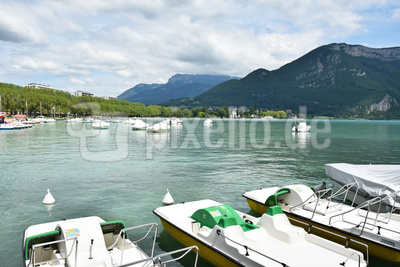 Am Lac Annecy